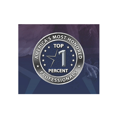 America's Most Honored Professionals - Top 1 Percent - Kohn, Kohn & Colapinto LLP